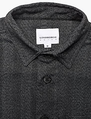 Lindbergh - Herringbone overshirt - yläosat - black mix - 3