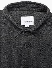 Lindbergh - Herringbone overshirt - yläosat - black mix - 3