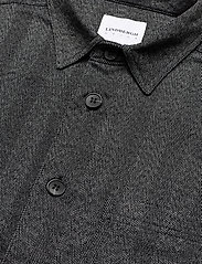 Lindbergh - Herringbone overshirt - yläosat - black mix - 4