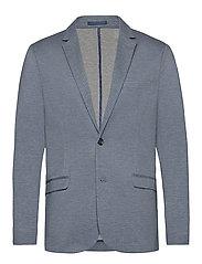 Knitted blazer - GREY MIX
