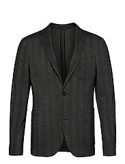 Unconstructed blazer - BLACK MIX