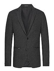 Blazer with zipped pockets - GREY