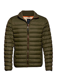 Light down jacket - ARMY