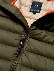 Lindbergh - Light down jacket - toppatakit - army - 5