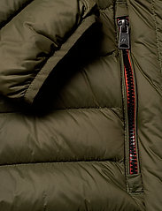 Lindbergh - Light down jacket - toppatakit - army - 6