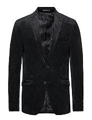 Velvet blazer - BLACK