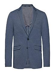 Knitted blazer - BLUE