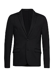 Superflex knitted blazer - BLACK
