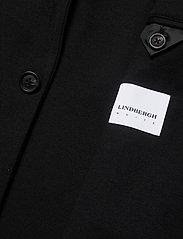 Lindbergh - Superflex knitted blazer - single breasted blazers - black - 4