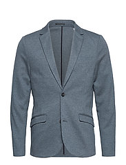 Superflex knitted blazer - BLUE MIX
