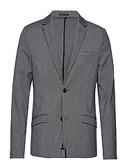Superflex knitted blazer - GREY MIX