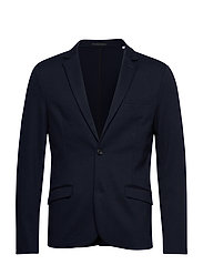 Knitted blazer - NAVY