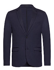Superflex knitted blazer - NAVY MIX
