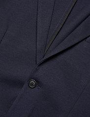 Lindbergh - Superflex knitted blazer - single breasted blazers - navy mix - 3