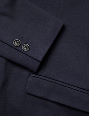 Lindbergh - Superflex knitted blazer - single breasted blazers - navy mix - 4