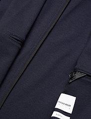Lindbergh - Superflex knitted blazer - single breasted blazers - navy mix - 5