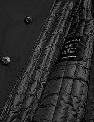 Lindbergh - Twill coat w detachable collar - manteaux legères - black - 6