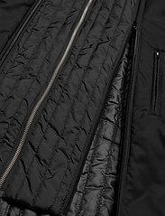 Lindbergh - Twill coat w detachable collar - manteaux legères - black - 8