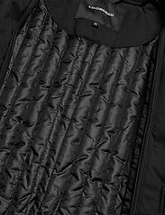 Lindbergh - Twill coat w detachable collar - manteaux legères - black - 7