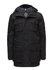 Cargo jacket - BLACK