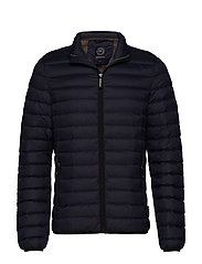 Quilted down jacket - NAVY