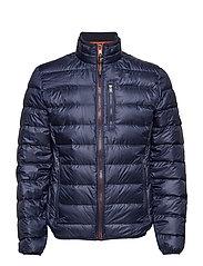 Light down jacket - DK BLUE