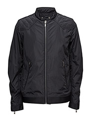 Shortnylonjacket - BLACK