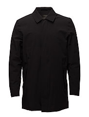 Technical car coat - BLACK