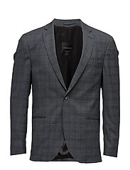 Checkedstretchblazer - GREY MIX