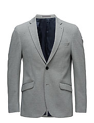 Knitted blazer - GREY