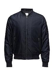 Short bomber jacket - NAVY