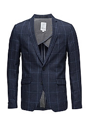 Checked blazer - BLUE CHECKED