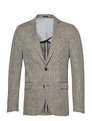 Special weave blazer - SAND