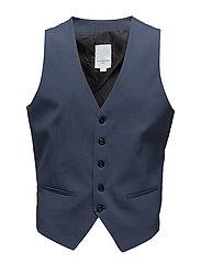 Men's waistcoat for suit - DUSTY BLUE