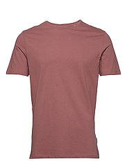 Basic tee S/S - DUSTY ROSE