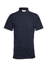 Jersey shirt S/S - DK BLUE
