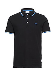 Polo shirt S/S - BLACK