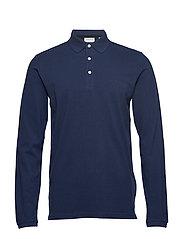 Polo shirt L/S - NAVY