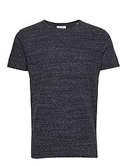 Neps structure tee S/S - DK BLUE