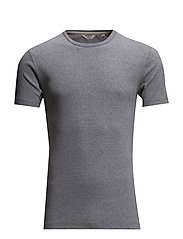 Basic t-shirt S/S - GREY MEL