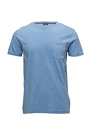 Slub pocket tee - BLUE