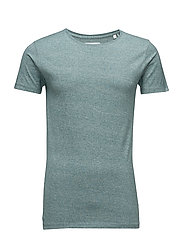 Mouliné tee S/S - GREEN MIX