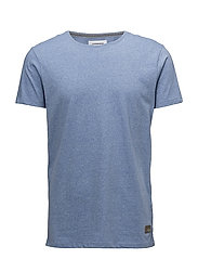 Mouliné tee S/S - ICE BLUE MIX