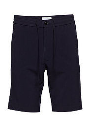 Relaxed suit shorts - NAVY