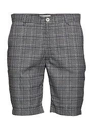 Checked shorts - DK BLUE CHECK