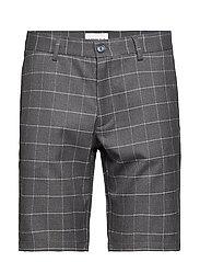 Checked shorts - GREY