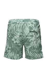 Swim shorts w. tropic print