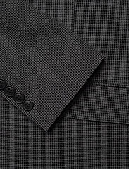 Lindbergh - Seersucker checked suit - single breasted suits - grey check - 5