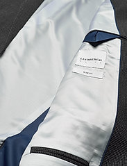 Lindbergh - Seersucker checked suit - single breasted suits - grey check - 6