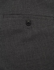 Lindbergh - Seersucker checked suit - single breasted suits - grey check - 9